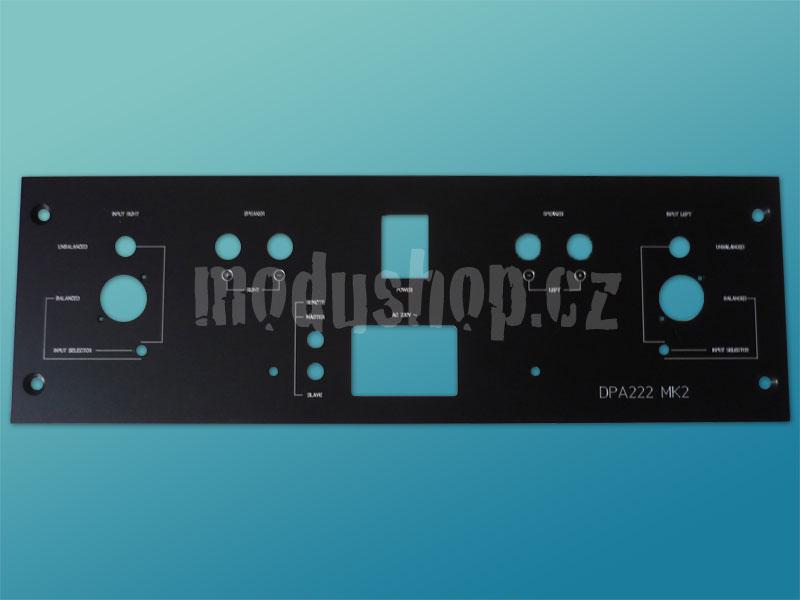 Zadní panel DPA 222