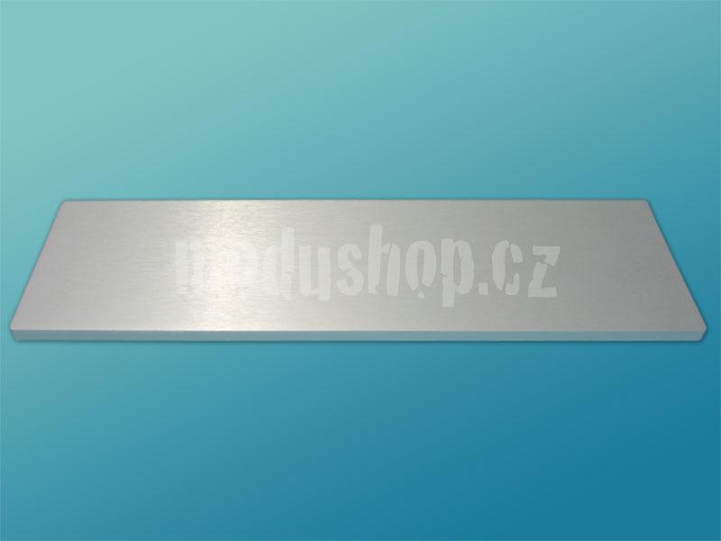 1NPD03300B - 3U Krabice s chladičem, 300mm, 10mm-panel stříbrný