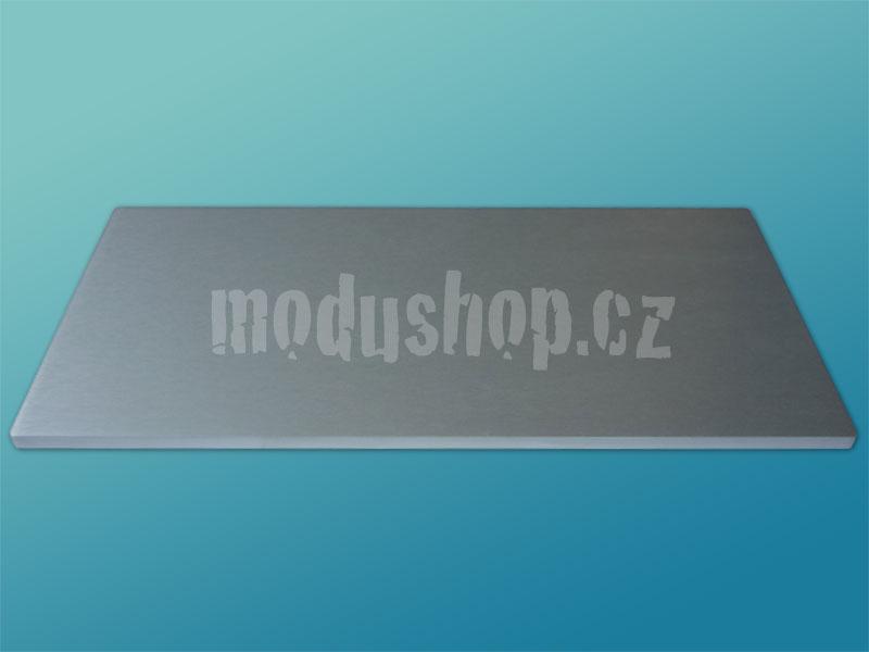1NPDA05300B - 5U Krabice s chladičem, 300mm, 10mm-panel stříbrný, AL víka