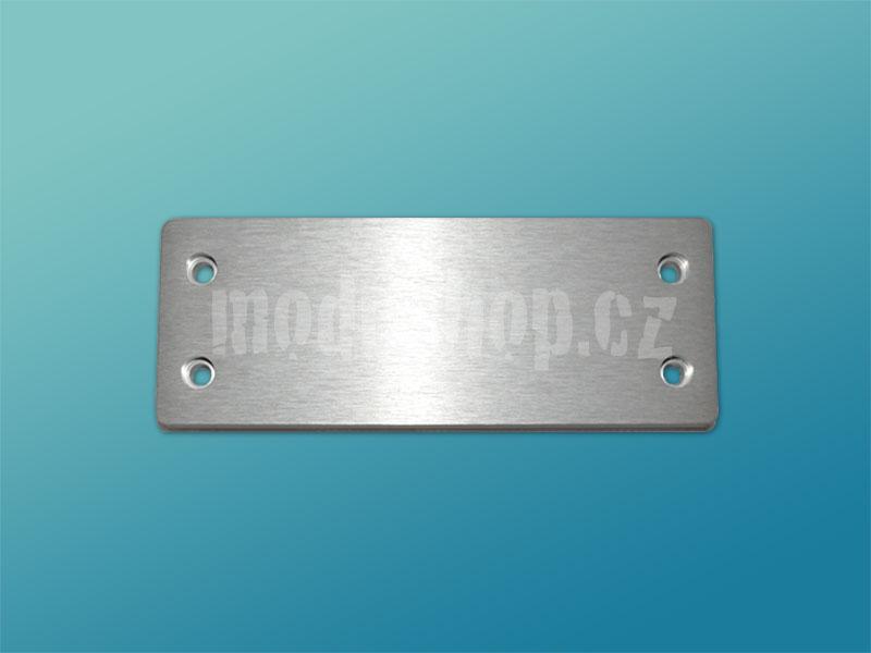Čelní panel 10mm stříbrný pro Galaxy 143 a 147