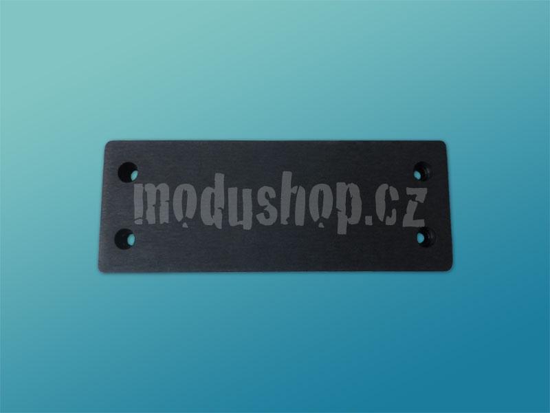 Čelní panel 10mm černý pro Galaxy 143 a 147
