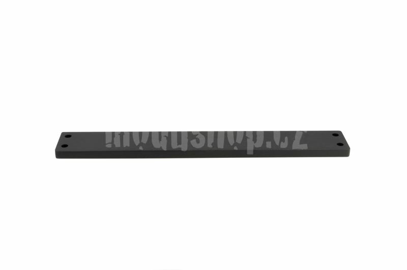 1FRONTGX343N - Čelní panel 10mm černý