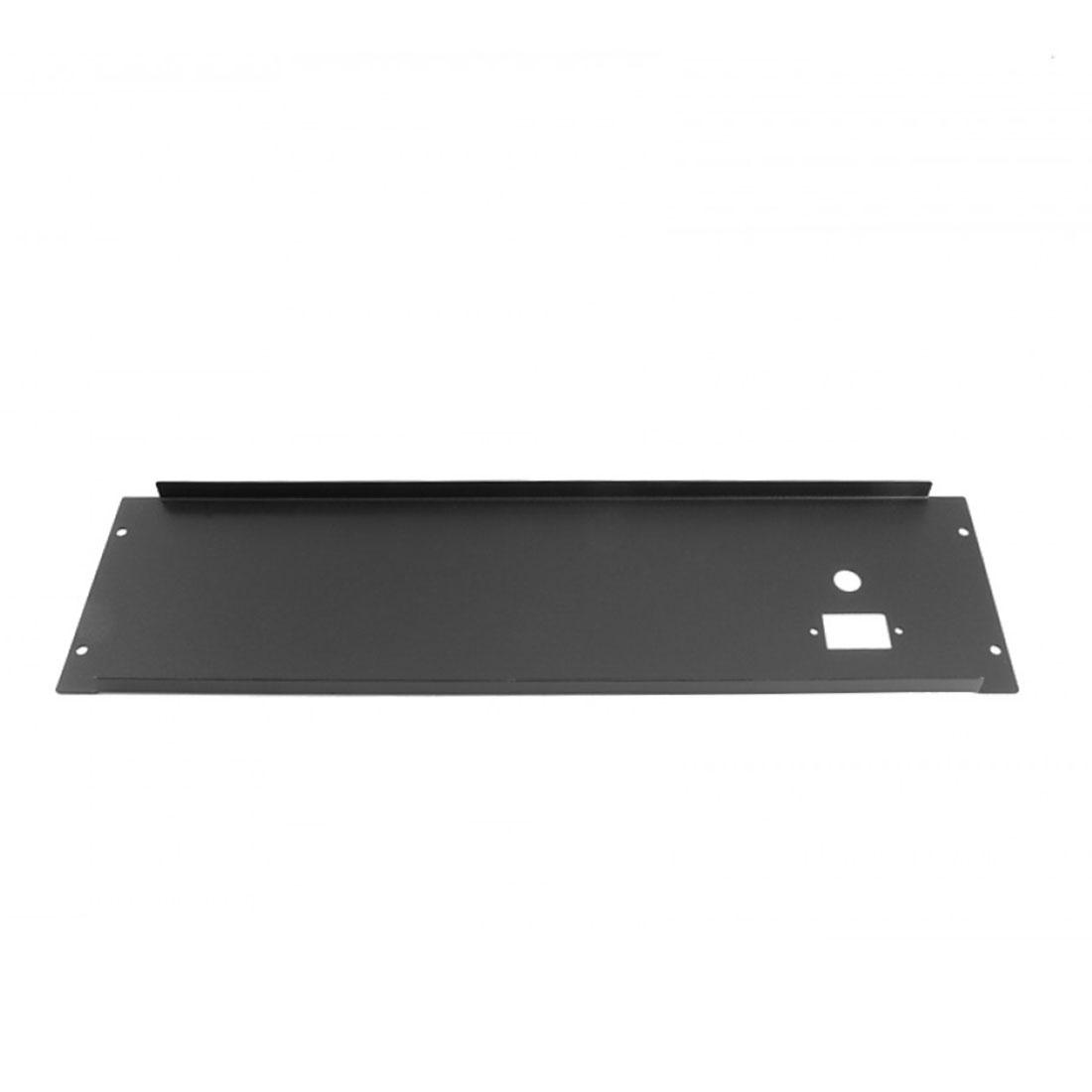 1PS03PN - 3U rack krabice plechová, 300mm, 4mm - rack panel černý