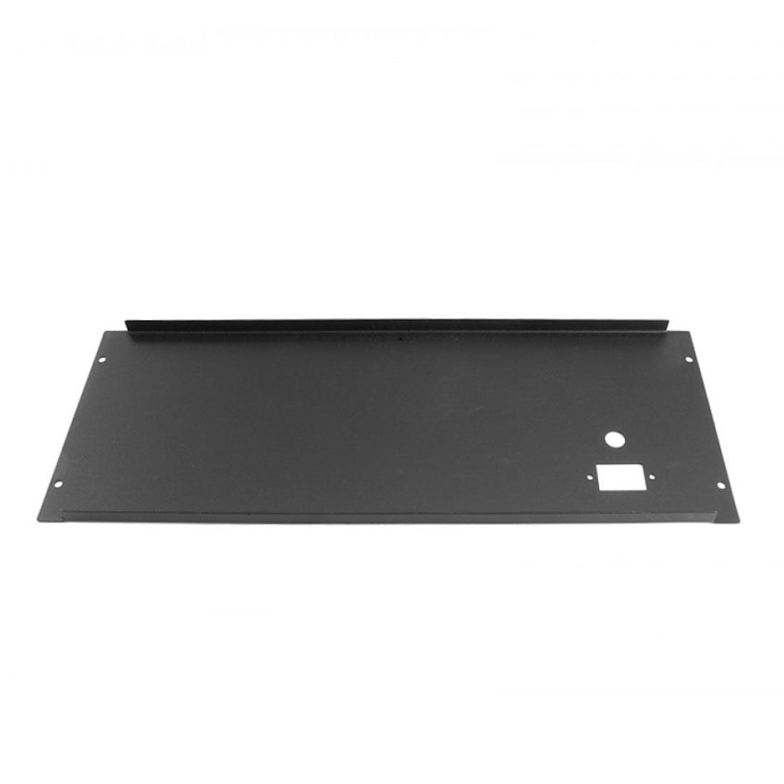 1PS04PN - 4U rack krabice plechová, 300mm, 4mm - rack panel černý