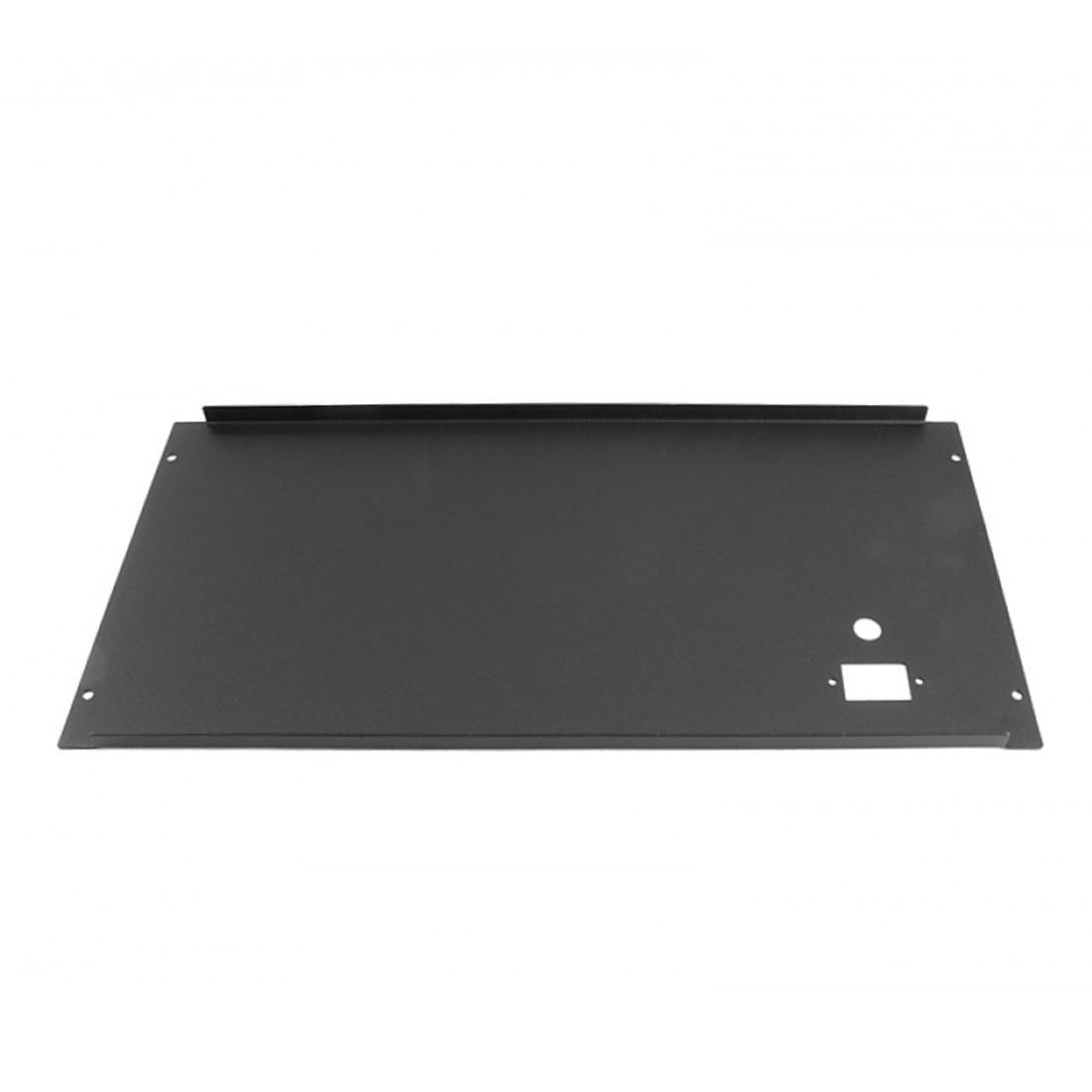 1NPS05PB - 5U rack krabice plechová, 300mm, 10mm - panel stříbrný