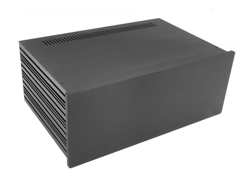 4U rack krabice s lištou, 280mm