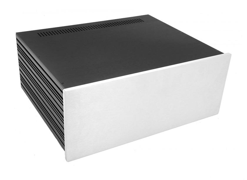 4U rack krabice s lištou, 350mm
