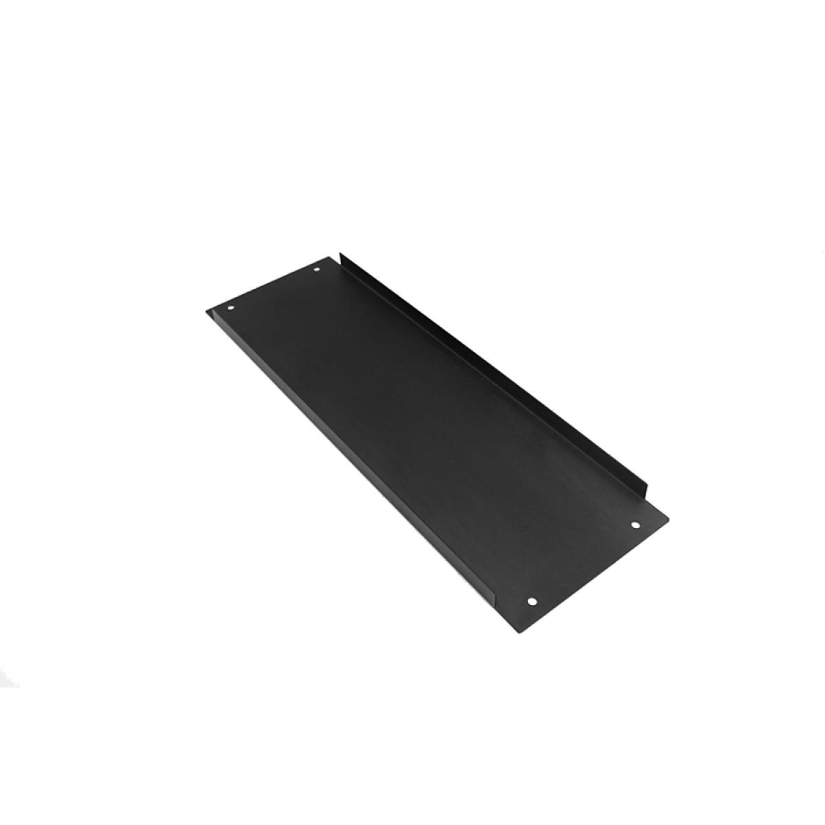 1NPD03300N - 3U Krabice s chladičem, 300mm, 10mm-panel černý