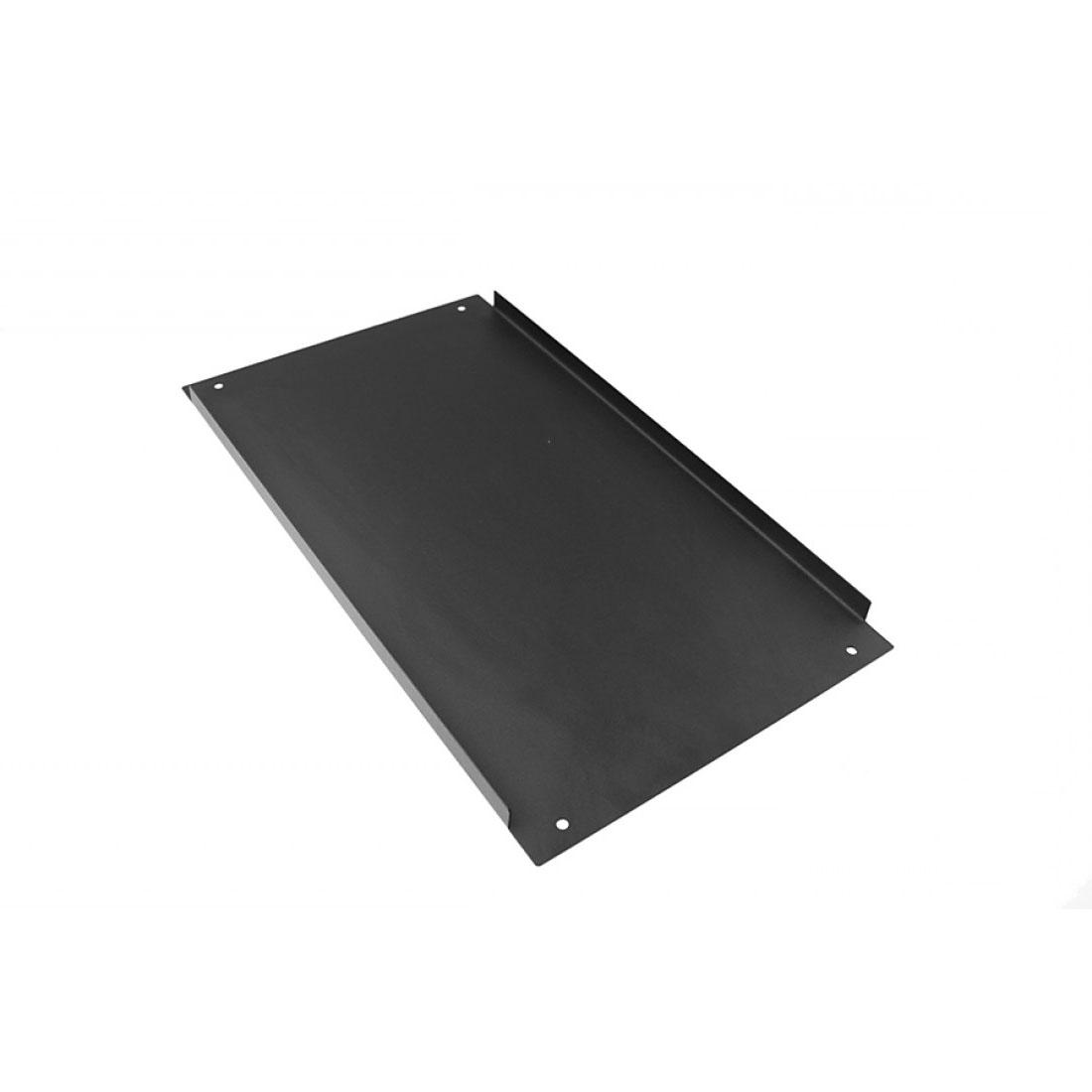 1NPD05400B - 5U Krabice s chladičem, 400mm, 10mm-panel stříbrný