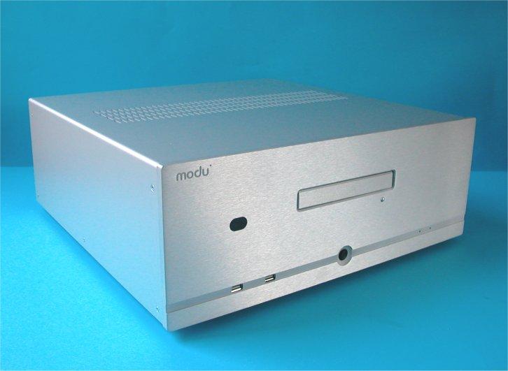 1MD11B - PC, HTPC skříň hliníková
