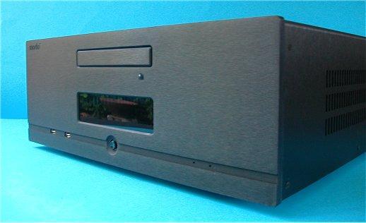 1MD21N - PC, HTPC skříň černá