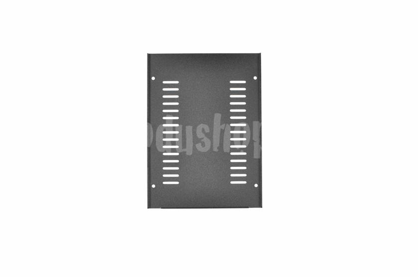 1GX147 - 1U Galaxy krabice, 124 x 170 x 40mm, 3mm panel stříbrný