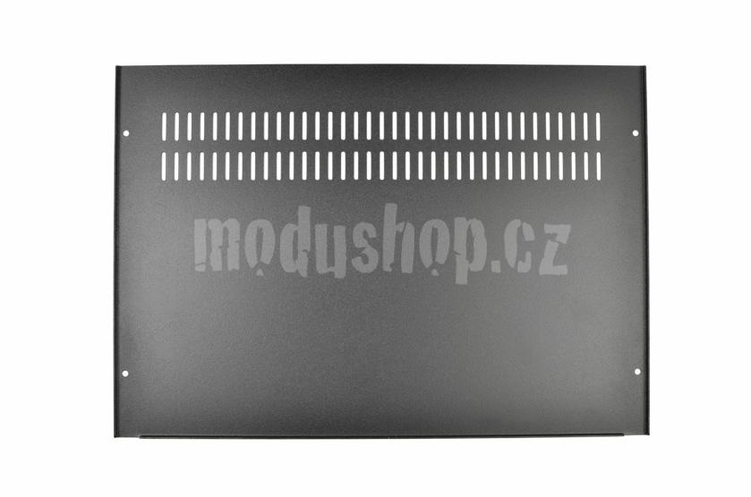 1GX343 - 1U Galaxy krabice, 330 x 230 x 40mm, 3mm panel stříbrný